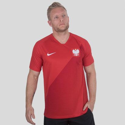 Nike Polonia 2018 Away M/C Stadium Camiseta de Futbol