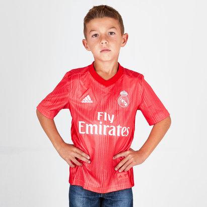 adidas Real Madrid 18/19 3era Camiseta de Futbol Niños