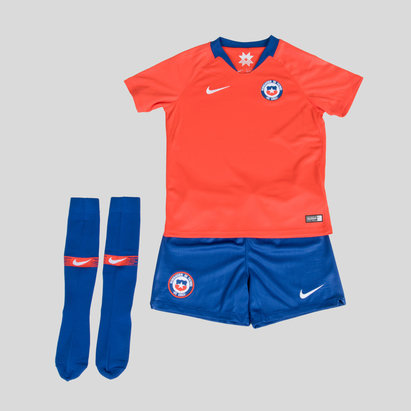 Nike Chile 2018 Home Mini Kit Replica de Futbol