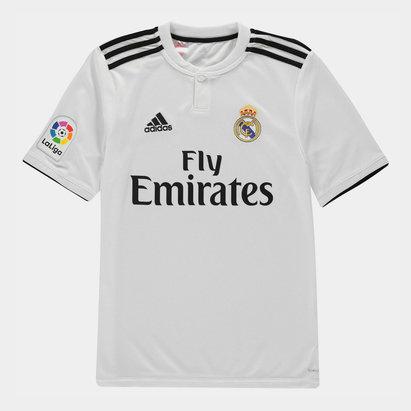adidas Real Madrid 18/19 Home LFP Replica Camiseta de Futbol Adolescente