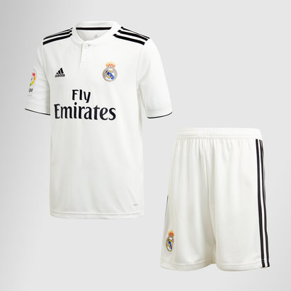 adidas Real Madrid 18/19 Home Kit de Futbol para Niños