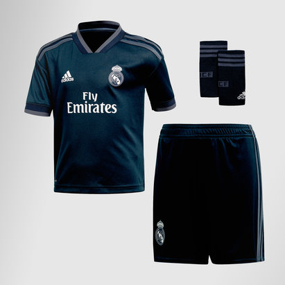 adidas Real Madrid 18/19 Away Mini Kit de futbol para Niños