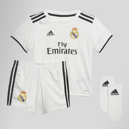 adidas Real Madrid 18/19 Home Kit de Futbol para Infantes