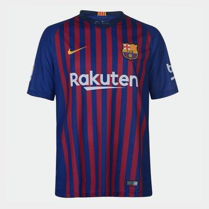 Nike FC Barcelona 18/19 Home Stadium Camiseta de Futbol