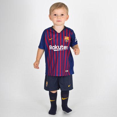 Nike FC Barcelona 18/19 Home Kit de Futbol para Niños
