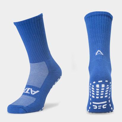 Atak Sports Shox Non Slip Mid Leg Grip Socks