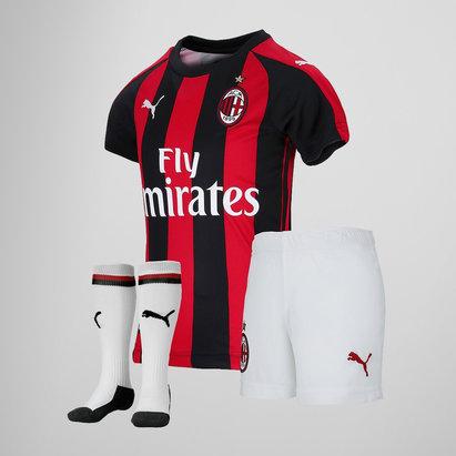 Puma AC Milan 18/19 Home Mini Kit de Futbol para Niños