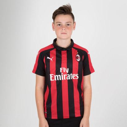 Puma AC Milan 18/19 Home Camiseta Replica de Futbol para Niños