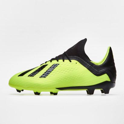 adidas X 18.1 FG - Botas de Fútbol para Niños