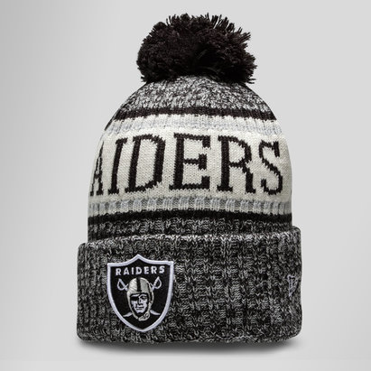 New Era NFL Oakland Raiders Sideline Gorro