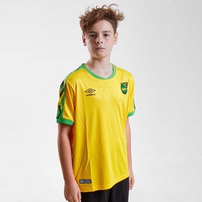 Umbro Jamaica 2018 Home Replica camiseta de Futbol para Niños