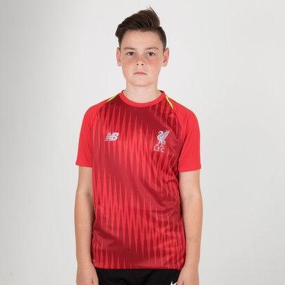 New Balance Liverpool FC 18/19 Elite Camiseta de Entrenamiento de Fuitbol para Niños