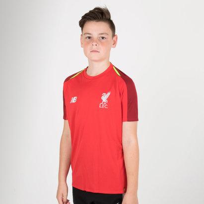 New Balance Liverpool FC 18/19 Elite Camiseta de Entrenamiento de Futbol para Niños
