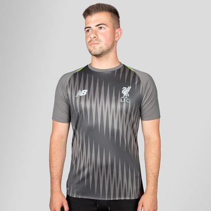 New Balance Liverpool FC 18/19 Elite Camiseta de Entrenamiento de Futbol-sin Sponsor