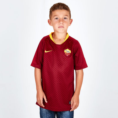 Nike AS Roma 18/19 Home Replica Camiseta de Futbol Para Niños