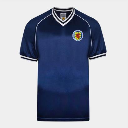 Score Draw Draw Scotland 1982 Home Jersey