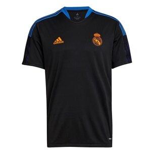 adidas Real Madrid Training Shirt 2021 2022 Mens