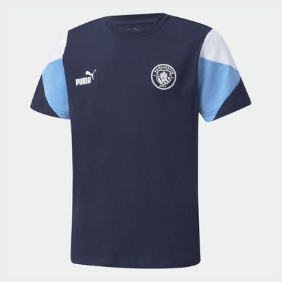 Puma Manchester City Cult T Shirt Junior