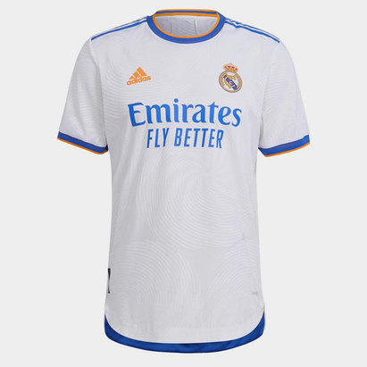 adidas Real Madrid Authentic Home Shirt 2021 2022