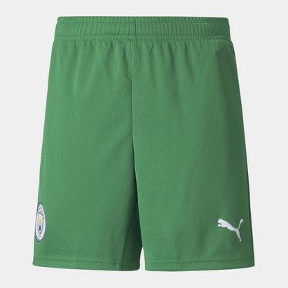 Puma Manchester City Home Goalkeeper Shorts 2021 2022 Junior