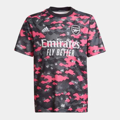 adidas Arsenal Pre Match Shirt 2021 2022 Junior