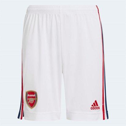 adidas Arsenal Home Shorts 2021 2022 Junior