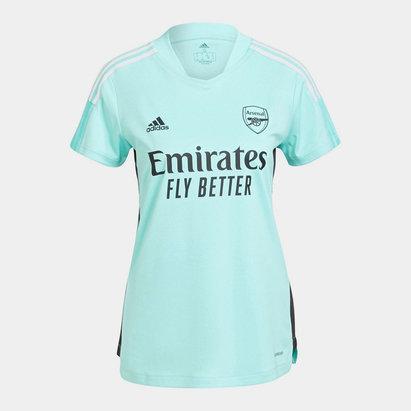 adidas Arsenal Training Shirt 2021 2022 Ladies