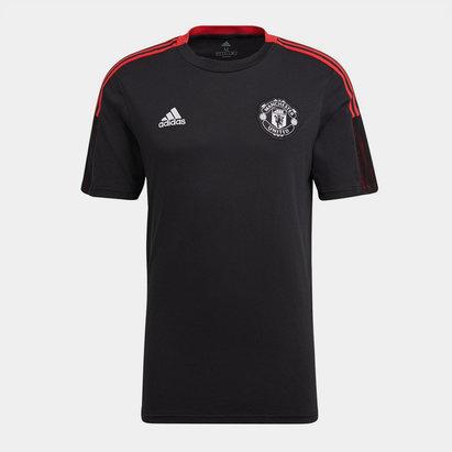 adidas Manchester United T Shirt 2021 2022 Mens