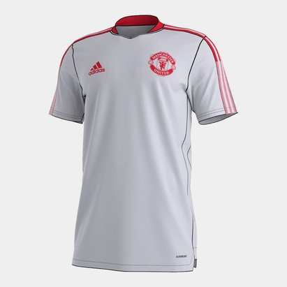 adidas Manchester United Training Shirt 2021 2022