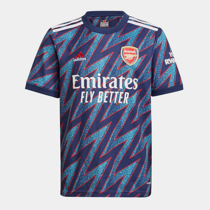 adidas Arsenal Third Shirt 2021 2022 Junior