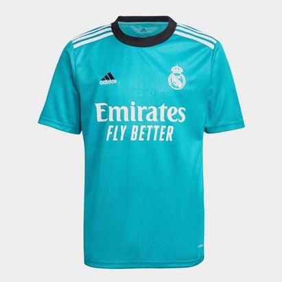 adidas Real Madrid Third Shirt 2021 2022 Junior