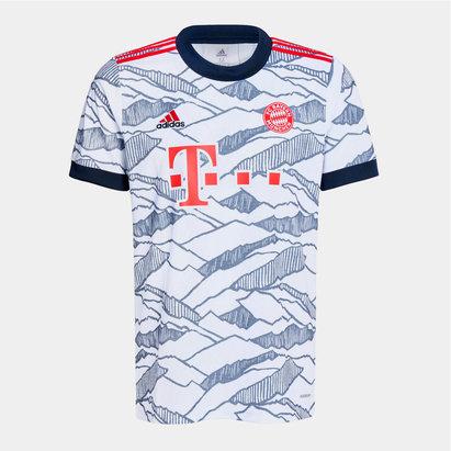adidas Bayern Munich Third Shirt 2021 2022 Junior