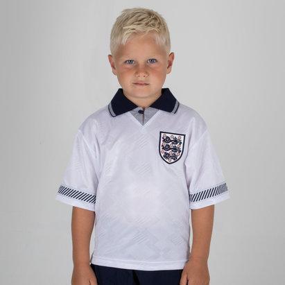 Score Draw Inglaterra 1990 Copa Del Mundo Retro camiseta para Niños