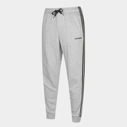 adidas 3 Stripe Jogging Bottoms Mens