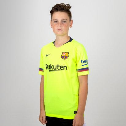 Nike FC Barcelona 18/19 Away - Replica Camiseta de Fútbol Stadium para Niños