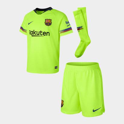 Nike FC Barcelona 18/19 Away - Kit de Fútbol para Infantes