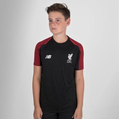 New Balance Liverpool FC 18/19 Elite - Camiseta de Fútbol de Entrenamiento para Niños