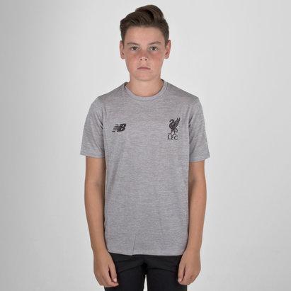 New Balance Liverpool FC 18/19 - Camiseta de Fútbol de Entrenamiento para Niños