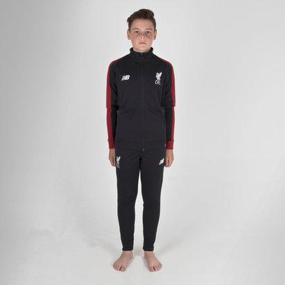New Balance Liverpool FC 18/19 - Pantalones de Fútbol de Presentación para Niños