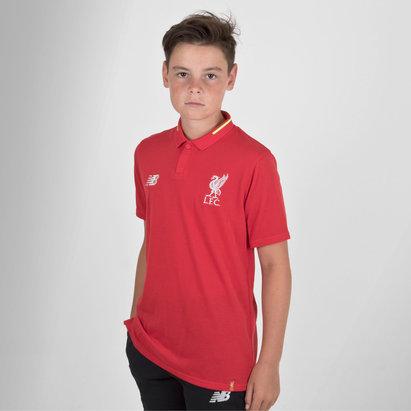 New Balance Liverpool FC 18/19 Elite - Polo de Fútbol de Entretenimiento para Niños