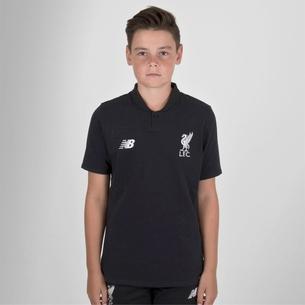 New Balance Liverpool FC 18/19 Kids Elite Classic Football Polo Shirt