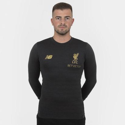 New Balance Liverpool FC 18/19 Managers - Camiseta de Fútbol sin Costuras M/L