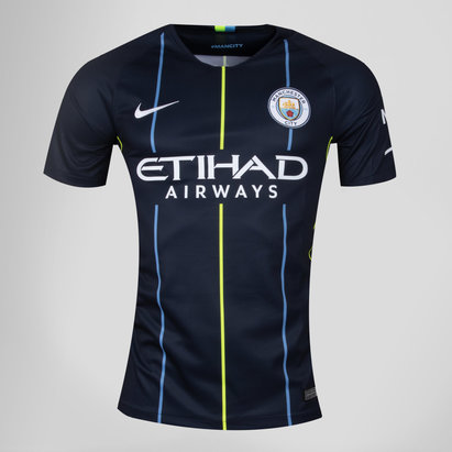 Nike Manchester City 18/19 Away - Replica, Camiseta de Fútbol para Niños