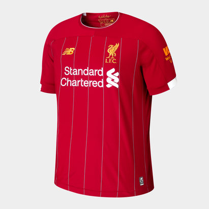 New Balance Camiseta de Futbol del Liverpool FC 19/20 de Local