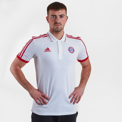 adidas Bayern Munich 2019 Pique Football Polo Shirt