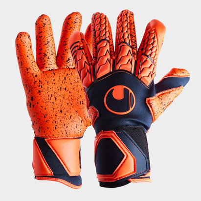 Uhlsport Next Level Supergrip Finger Surround Goalkeeper Gloves Mens