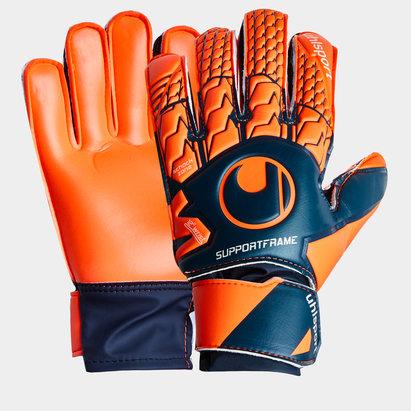 Uhlsport Next Level Soft Support Frame Kids Goalkeeper Gloves