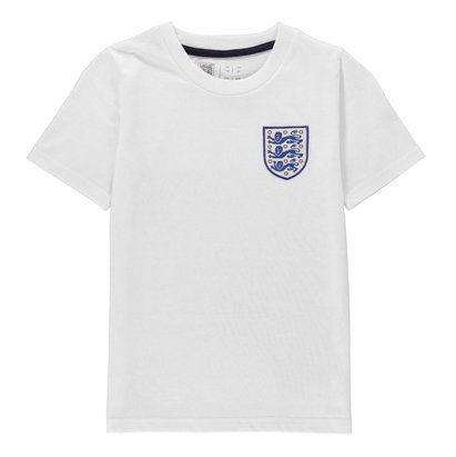 FA England Small Crest T-Shirt Juniors