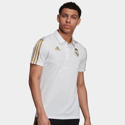 adidas Real Madrid 19/20 Players Football Polo Shirt