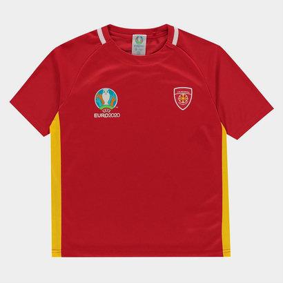UEFA Euro 2020 Macedonia Polyester T Shirt
